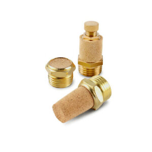 Pneumatic Silencer Sintered Bronze Silencer Pneumatic Air Muffler BSP Thread