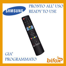 TELECOMANDO TV UNIVERSALE SAMSUNG COMPATIBILE PROGRAMMATO PRONTO SMART LCD LED