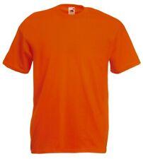 leider geil - Fun Shirt Fruit Of The Loom T-shirt L Orange/schwarz 01
