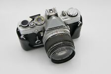 Olympus OM-1 35mm SLR Film Camera with 50 mm f1.4 Lens and Case