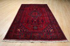3x5 SUPER FINE Afghan Stunning Antique Design Handmade Knotted Wool Rug 582818
