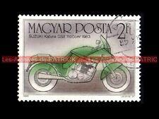 SUZUKI GSX 1100 KATANA 1983 - MAGYAR POSTA - HONGRIE Moto Timbre Stamp