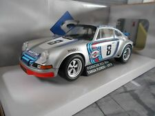 Porsche 911 Carrera 2.8 RSR Targa Florio Martini #8 1973 New nouveau SOLIDO 1:18