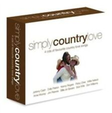 Simply Country Love (4CD) - Various Audio CD