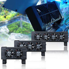 Ocean Breeze Cooling Fans Aquarium Water Chiller Marine Tropical Fish Tank DC12V
