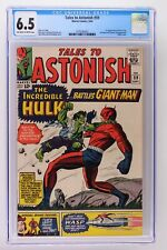 Tales to Astonish #59 - Marvel 1964 CGC 6.5 1st Appearance of Hulk in title!