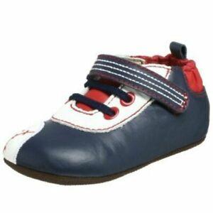 NIP ROBEEZ Mini Shoez Shoes Baseball Navy Blue Red White 3-6m 6-9m 2 3