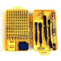 110 in 1 Magnetic Precision Screwdriver Set Watch Mobile Kits Repair Phone Y4B8