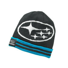Genuine Subaru Star Cluster Cuff Beanie Hat Impreza STI WRX Racing Ski Snow NEW