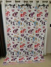 My Little Pony Twin Single Flat Sheet Pink Rainbows Hearts Stars Ponies