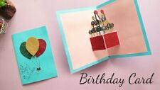 Handmade Happy Birthday Greeting Card By Talking Pictures Cards for loved once