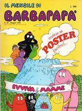 fumetto il mensile di BARBAPAPA' numero 30 completo
