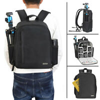 CADeN D6 Black Waterproof Camera Bag Backpack for Sony Canon Nikon DSLR SLR