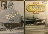 MORE THINGS THAT AREN'T THERE ANYMORE DVD (2) & RARE PART 3! PBS WQED RICK SEBAK