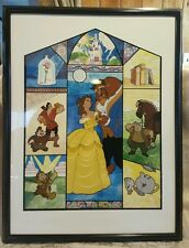 Beauty and the Beast Serigraph / secirel Edition size 2500 Tale as Old as Time!!