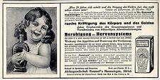 Aktiengesellschaft Hommel's Haematogen Zürich Historische Annonce 1913