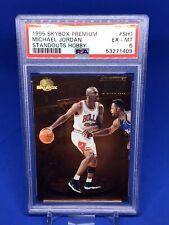 1995-96 Skybox Premium Michael Jordan Standouts Hobby PSA 6 Insert SP Bulls