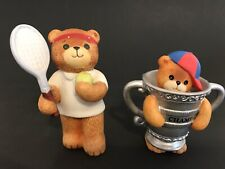 Lucy & Me/Lucy Rigg Tennis Player & Bear In Champ Cup Bears; Free Priority Ship!