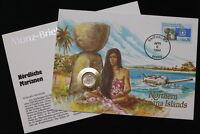 MARIANA ISLANDS USA DIME 1994 P COIN COVER A98 WWF156