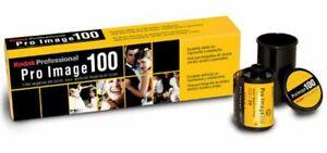 5 Rolls Kodak Pro Image 100 Professional Color Negative Film 35mm FRESH STOCK