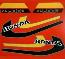 XL500S (RED BIKE VERSION) PAINTWORK DECAL KIT