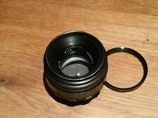 Helios 44-2 58mm f2 Lens  VGC