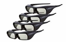 4X Genuine Sony TDG-BR250/B 3D Active Eyewear Glasses Rechargeable for Sony TV