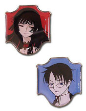 *NEW* xxxHolic: Yuko & Watanuki Pin (Set of 2) by GE Animation