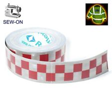RTP5 High Viz Reflective Tape Silver and Red 50mm x1m