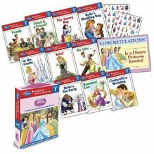 Disney Princess Reading Adventures Box Set Level 1 Learning to Read Program Book