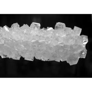 ROCK CANDY CRYSTALS ON STRINGS WHITE, 1LB
