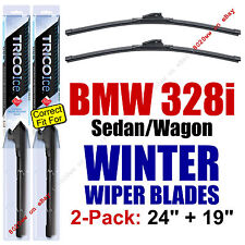 WINTER Wiper Blades 2-Pack fit 2007-2013 BMW 328i (sedan & wagon only) 35240/190