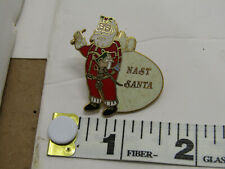 Old Vintage Nast Santa Clause Pin Hat Collar Coat Pin Jewelry Costume Pins