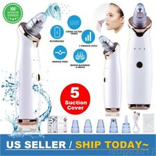 Electric Blackhead Remover Vacuum Suction Skin Pore Cleaner Cleaning Face Tool