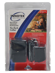 Innotek Rechargeable Automatic No-Bark Collar BC-200 Device Adjustable FS