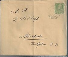 Austria Cover from Jerusalem to Meschede Germany, Official? Offices