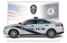 Louisville Kentucky Metro Police Ford Taurus Cruiser Poster Print