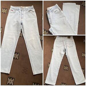 """lee cooper light blue jeans zip fly W 32"""" inside leg 31"""" cotton  (37)"""