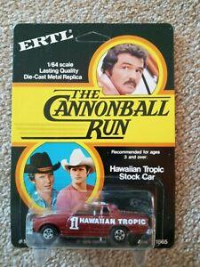1981 ERTL The Cannonball Run Hawaiian Tropic Stock Car Mint on Unpunched  Card