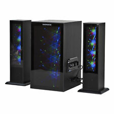 Magnavox MHT990 Bluetooth Home Entertainment System with Color Changing Lights,