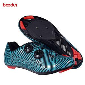 BOODUN Ultralight Road Bike Cycling Shoes Self-Locking Outdoor Bicycle Shoes