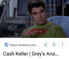 GREY'S ANATOMY/SAM FULLER AS CASH KELLER/SCREEN WORN WARDROBE