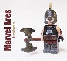 Custom Ares Marvel Superheroes captain america avengers knight thor on lego brik