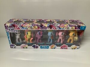My Little Pony 6 Mega The Movie Magic Of Everypony Roundup Figure Collection