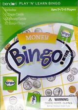 Game BINGO MONEY Learning Educational