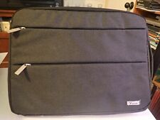 Voova 15.6 Laptop Sleeve Carrying Case with Accessory Pockets
