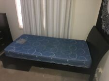 single bed frame (mattress included)