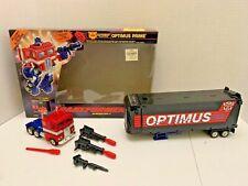 Transformers G2 Optimus Prime  w/accessories and original box