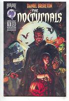 Nocturnals 1 Bravura 1995 NM Premium Glow In The Dark Variant Dan Brereton