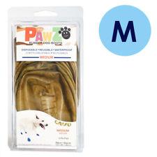 PAWZ Rubber Dog Boots M Camo 12 Per Pack Disposable Reusable Waterproof Shoes